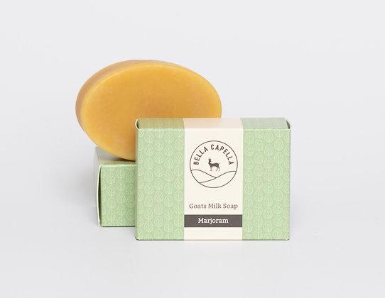 Marjoram goats milk soap; goats milk soap; marjoram soap; handmade soap