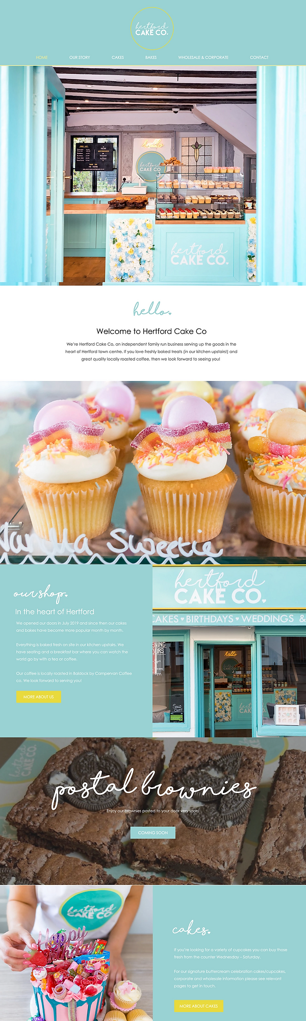 Cake Shop Website | Website Design UK