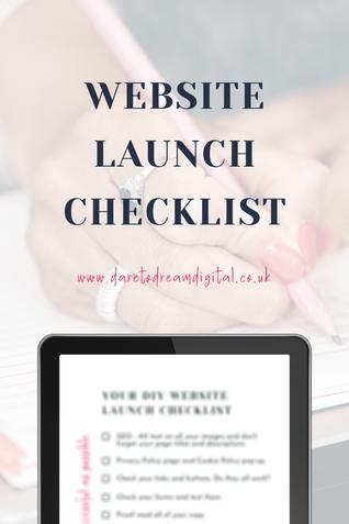 Website Launch Checklist | Website Desig