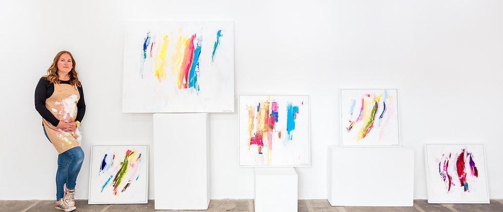 Paula Cherry Abstract Artist