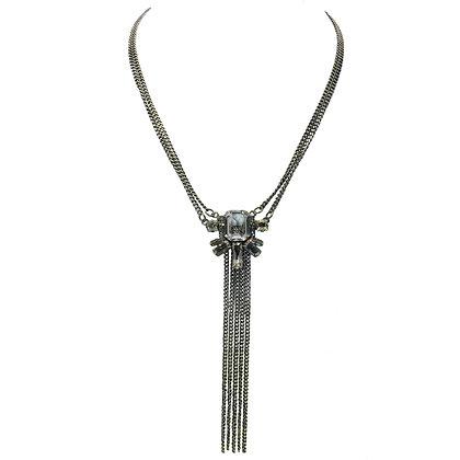 Crystal Fringe Necklace
