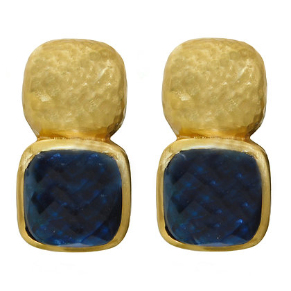 Sapphire Blue Catalina Clip on Earring
