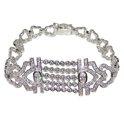 Retro CZ Bracelet