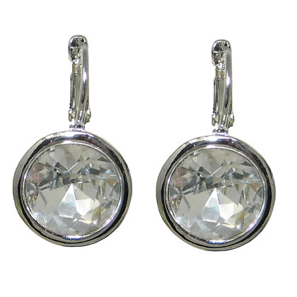 Clear Crystal Drop Earring