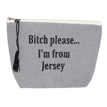 Grey Carry-All Zip Bags