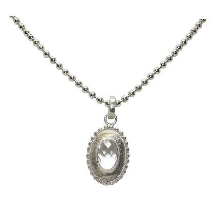 Briolette Cut Crystal Necklace