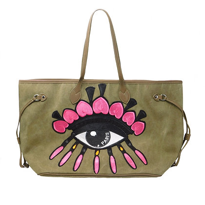 Eye See You Tote Handbag
