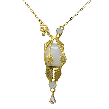 Cleo Opal Deco Necklace