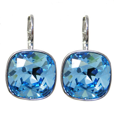 Blue Sky Square Drop Earring