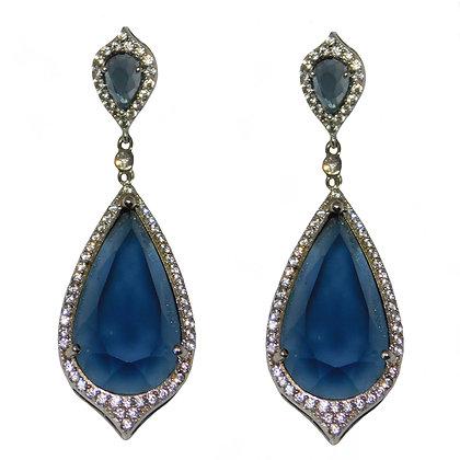 Eve Blue Quartz Earring
