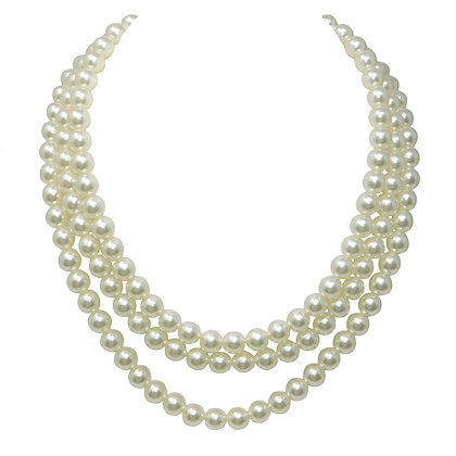 Nested Pearl Necklace