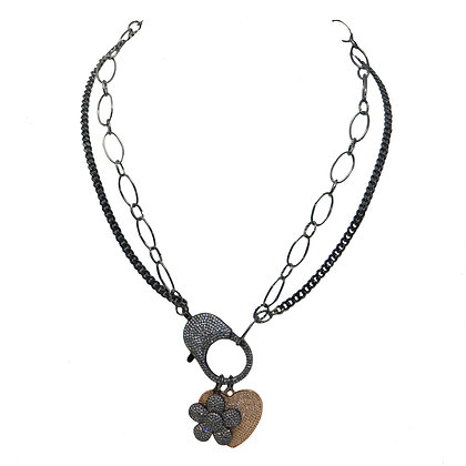 Double Double Layered Necklace