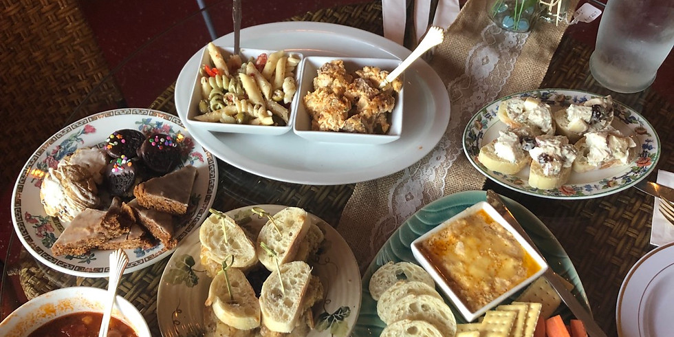 Adult baking and cooking class