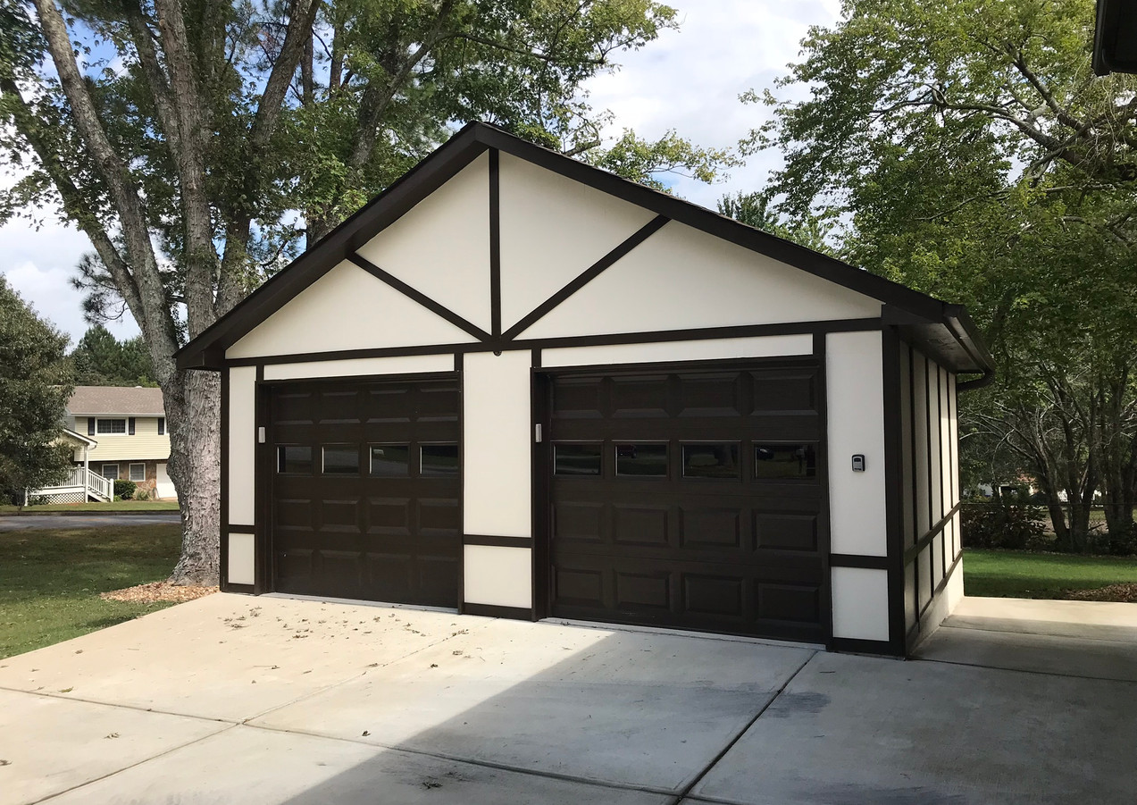 Detached Garage Build