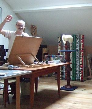 Michel Naslot Artiste Plasticien à Pau Aquitaine démarche artistique