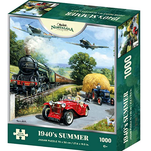 1940's Kevin Walsh Summer 1000 Piece Jigsaw Puzzle
