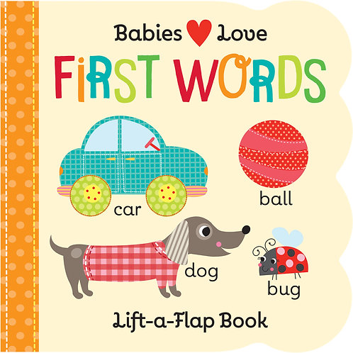 Babies Love First Words Book