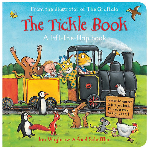 The Farm Tickle Book Lift  A Flap Book