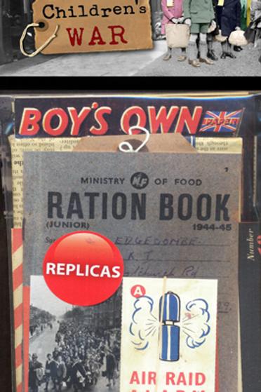Children at War  Memorabilia Pack