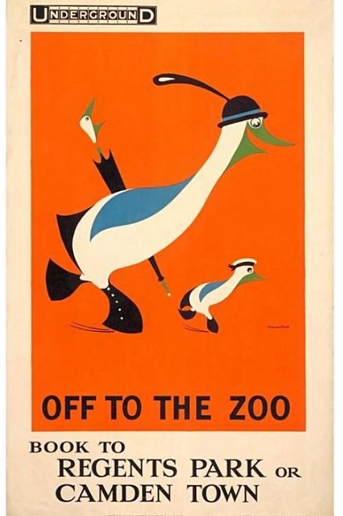 Off to the Zoo Poster