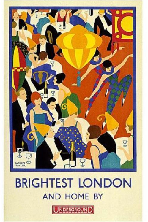 Brightest London Vintage Poster