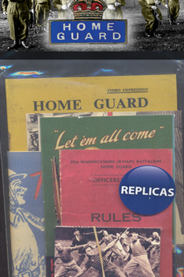 Home Guard Memorabilia Pack
