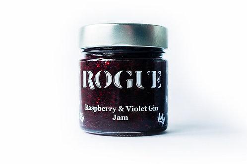 Raspberry & Violet Gin Jam