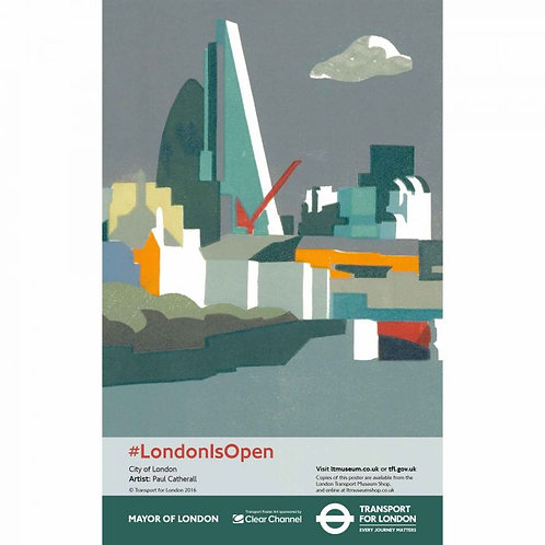 London Is Open Print