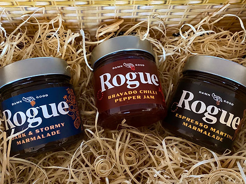 Rogue Jams Hamper of 3