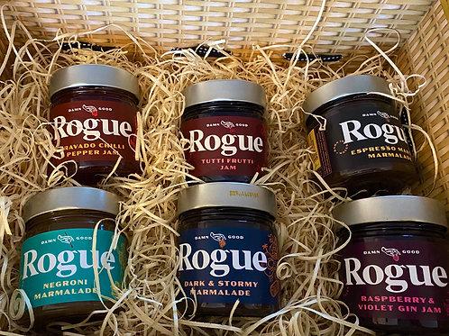 Rogue Jams Hamper of 6