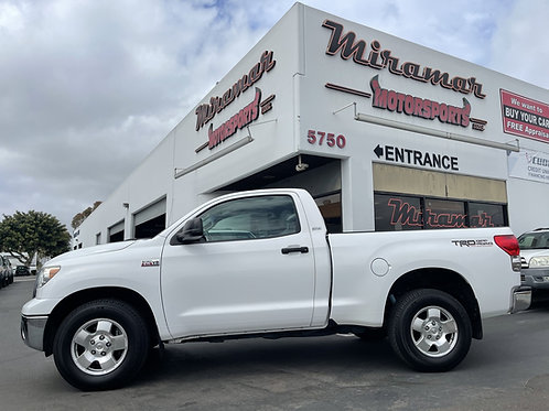 2007 Toyota Tundra 4x4 w/ TRD Off-Road Package