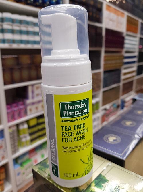 Thursday Plantation Tea Tree Face Wash Acne Step 1