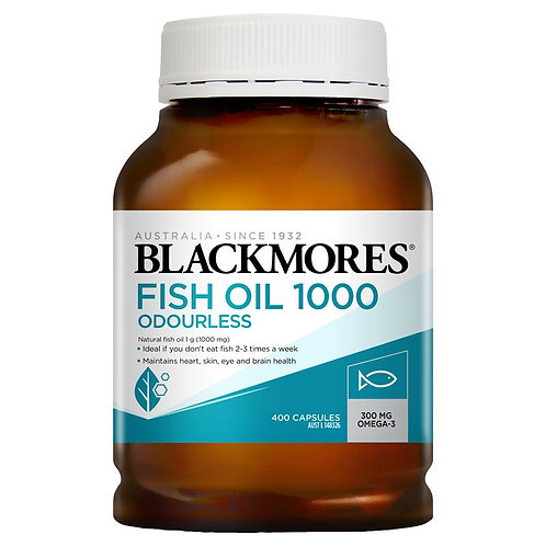 Blackmores Odourless Fish Oil 1000mg 400 capsule