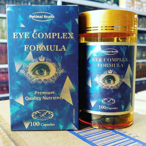 Optimal Health Eye Complex Formula TGA GMP HEALTH AUSTRALIA 100 Capsules