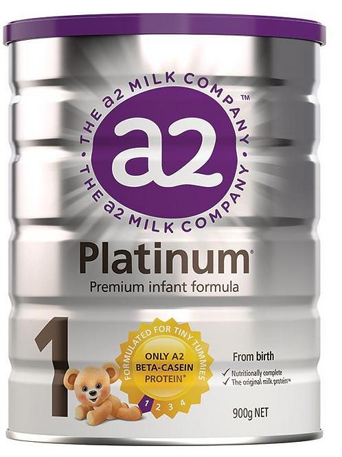 A2 Platinum Infant Formula Stage 1 900g