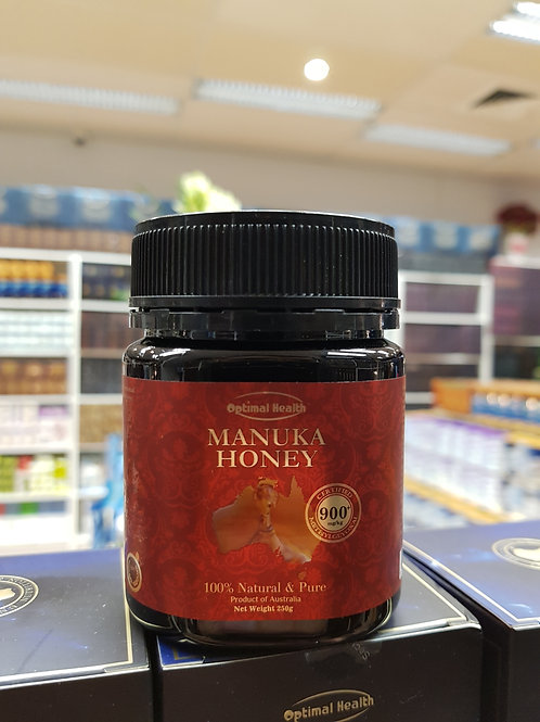 Optimal Health Manuka Honey Certified MGO 900+ Medicinal Grade GMP HACCP AUS