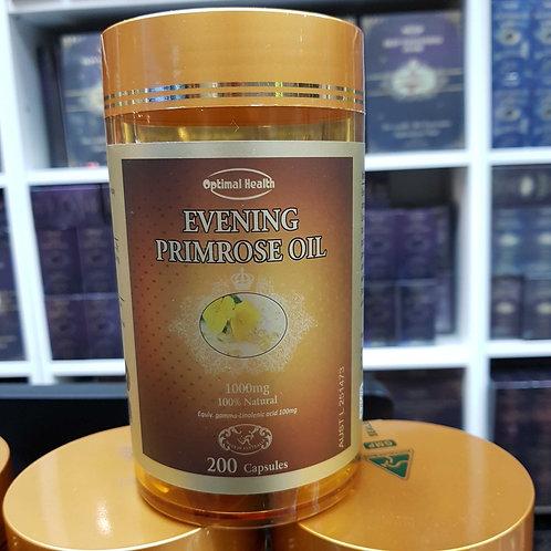 Optimal Health Evening Primrose Oil 200 TGA GMP HEALTH AUSTRALIA