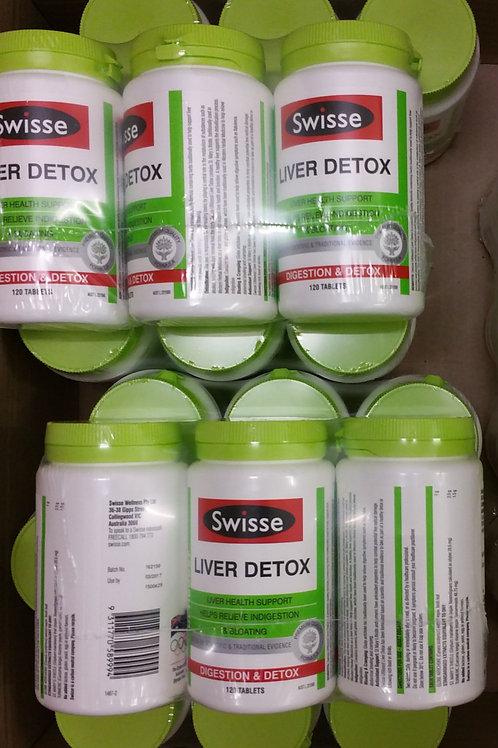 Swisse Ultibooost Liver Detox 120 Tablets