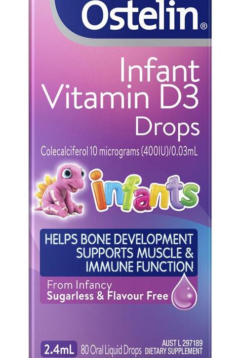 Ostelin Infant Vitamin D3 Drops 2.4ml