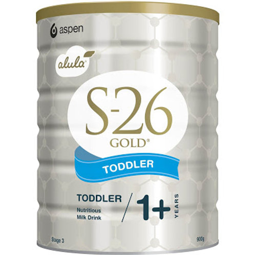 S26 GOLD Toddler Alula Milk Drink 900g 1-2 years