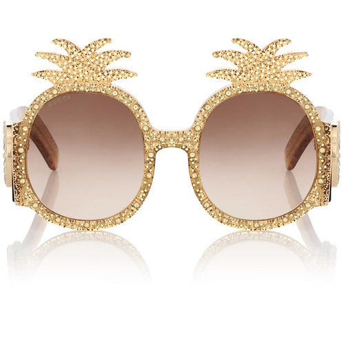 Gucci 0150S Pineapple Sunglasses LIMITED EDITION