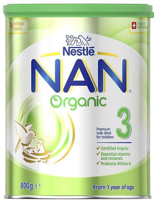 Nan Organic Step 3 Toddler Milk Drink Stage 3