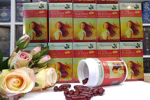 Rejuvenate Platinum Placenta Complex 40000+ 60s Skin Health GMP Australia Beauty