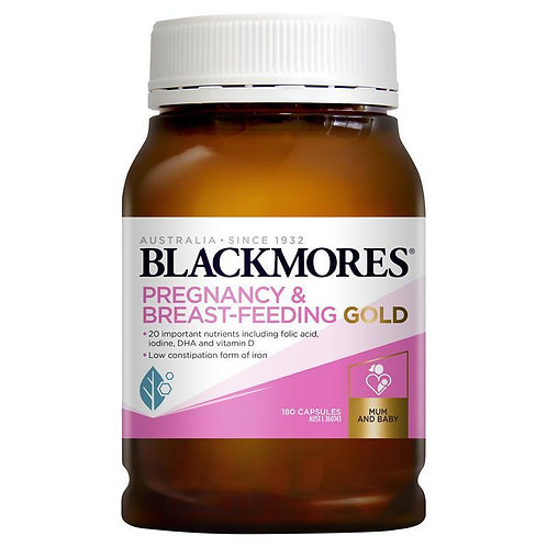 Blackmores Pregnancy & Breast Feeding GOLD 180