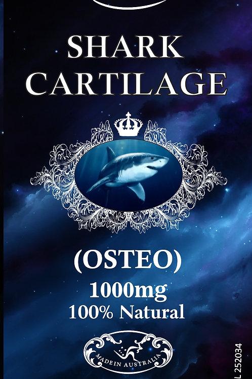 Optimal Health Shark Cartilage 1000mg (OSTEO) 120s TGA GMP HEALTH AUSTRALIA BONE