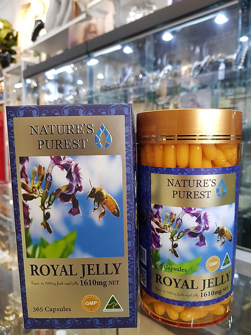 Nature's Purest Royal Jelly 1610mg 365s