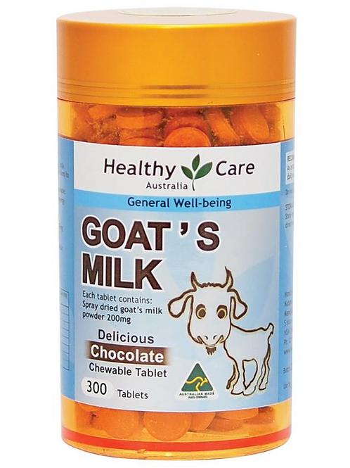 Healthy Care Goat Milk Vanilla 300 Tabs