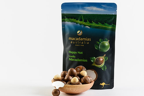 Macadamias Australia Happy Nut Vanilla in Shell