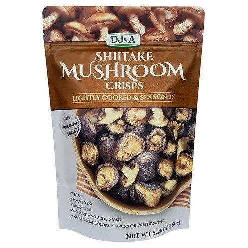 DJ&A Shittake Mushroom Crisps 150g