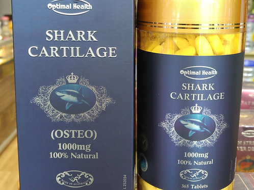 Optimal Health Shark Cartilage OSTEO 1000mg 365 Tablets Bone TGA GMP Premium AU